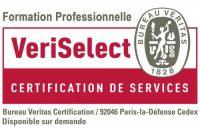 certification veriselect des formation professionnelle par le bureau veritas