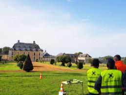 Formation cadrage au château du Boschet