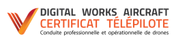 Certificaton télépilote - conduite professionnelle et opérationnelle de drones