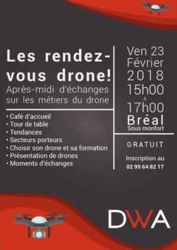 Affiche les rendez-vous drones