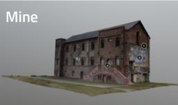 Modélisation 3D mine