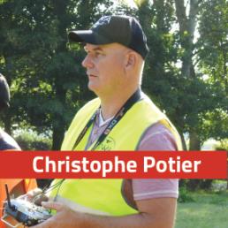 Christophe Potier - Chef du centre de secours de Les Pieux