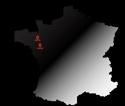 carte des centres DWA