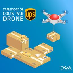 livraison par drone avec ups