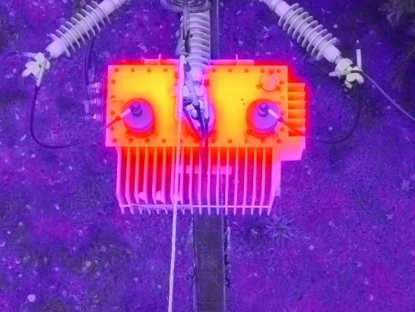 capteur thermique prestation formation drone contrôle infrastructure