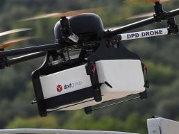 livraison par drone de colis en france